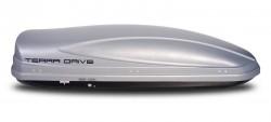 Серый бокс 480 литров двусторонний Terra Drive