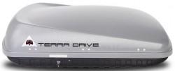 Серый бокс 420 литров двусторонний Terra Drive