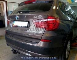 Прицепное на BMW X3 2010-2017 Полигон-Авто