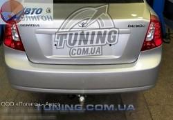 Фаркоп Daewoo Gentra седан 2013- Полигон-авто на два болта