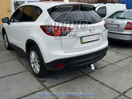 Photo Фаркоп Mazda CX5 2011- Полигон-авто квадрат вставка