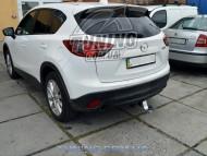 Фаркоп Mazda CX5 2011- Полигон-авто квадрат вставка