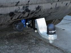Фаркоп Mazda CX7 2006-2012 Полигон-авто квадрат вставка