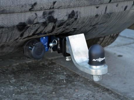 Фото Фаркоп Mazda CX7 2006-2012 Полигон-авто квадрат вставка