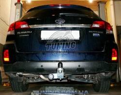 Сцепное под квадрат на Subaru Outback 2009-2015 Полигон