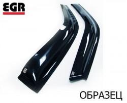 Ветровики Nissan Almera 00-06 EGR черный 2 шт.