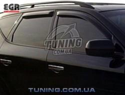 Вітровики Nissan Murano 02-08 EGR чорний 4 шт.