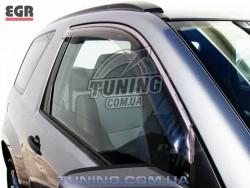 Вітровики Suzuki Grand Vitara 05- EGR димчастий 2 шт.