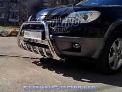 Кенгурятник Mitsubishi Outlander 03-11