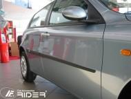 Молдинги дверей Alfa Romeo 147 00-09 5 дверей Rider