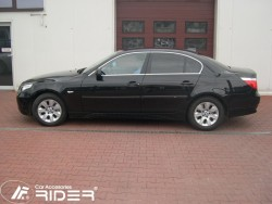 Молдинги дверей BMW 5 E60 03-10 Rider