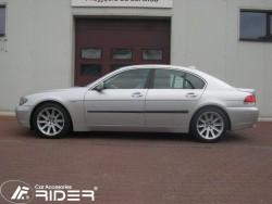 Молдинги дверей BMW 7 E65 2001-2008 Rider