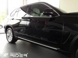 Молдинги дверей BMW X5 2013- F15 Rider