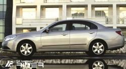 Молдинги дверей Chevrolet Epica 2006-2012 Rider