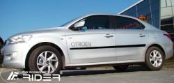 Молдинги дверей Citroen C-Elysee 2012- Rider