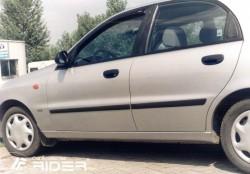 Молдинги дверей Daewoo Lanos 97- седан, хэтчбек Rider