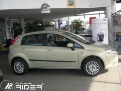 Молдинги дверей Fiat Grande Punto 06-13 5 дверей Rider