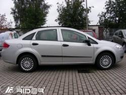 Молдинги дверей Fiat Linea 2007- Rider