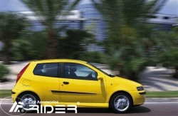 Молдинги дверей Fiat Punto 1999-2011 3 двери Rider
