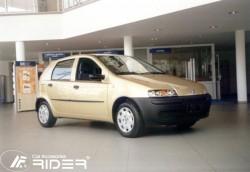 Молдинги дверей Fiat Punto 1999-2011 5 дверей Rider