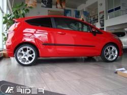 Молдинги дверей Ford Fiesta 08-13, 13- 3 двери Rider