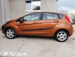 Молдинги дверей Ford Fiesta 08-13, 13- 5 дверей Rider