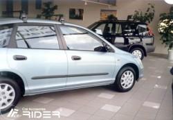 Молдинги дверей Honda Civic 2001-2005 5 дверей Rider
