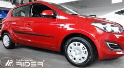 Молдинги дверей Hyundai I20 2009-2015 5 дверей Rider