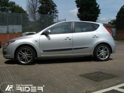 Молдинги дверей Hyundai I30 2007-2012 5 дверей Rider