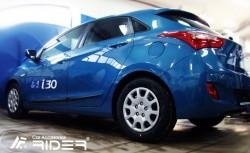 Молдинги дверей Hyundai I30 2012-2017 хэтчбек, универсал Rider