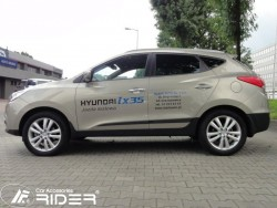 Молдинги дверей Hyundai IX35 2010- Rider