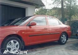 Молдинги дверей Kia Sephia 1998-2001 Rider