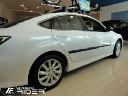 Молдинги дверей Mazda 6 07-13 седан, лифтбек Rider