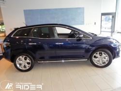 Молдинги дверей Mazda CX7 2010-2012 Rider