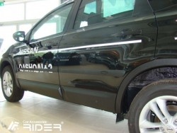 Молдинги дверей Nissan Qashqai 07-14 +2 Rider