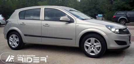 Photo Молдинги дверей Opel Astra H 4, 5 дверей 04-14 Rider