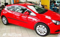 Молдинги дверей Opel Astra H, J 3 двери 04-14 Rider
