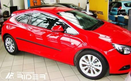 Photo Молдинги дверей Opel Astra H, J 3 двери 04-14 Rider
