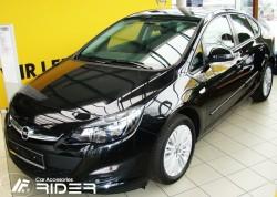 Молдинги дверей Opel Astra J 4, 5 дверей 2009- Rider