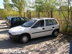 Молдинги дверей Opel Corsa B 5 дверей 1993-2000 Rider