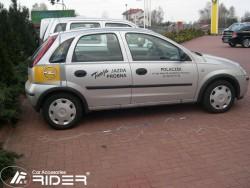 Молдинги дверей Opel Corsa C 5 дверей 2000-2006 Rider