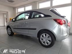 Молдинги дверей Opel Corsa E, D 3 двери 06-15, 15- Rider