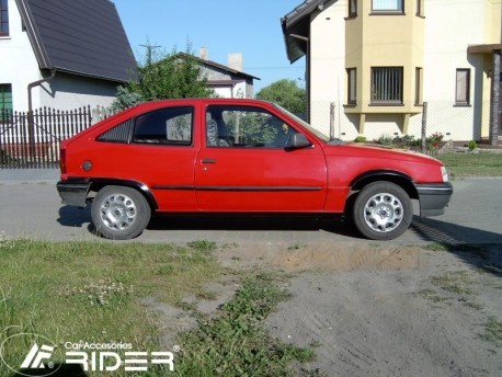Photo Молдинги дверей Opel Kadett 1985-1991 3 двери Rider