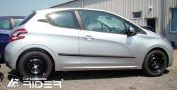 Молдинги дверей Peugeot 208 2012- 3 двери Rider