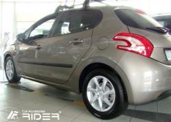 Молдинги дверей Peugeot 208 2012- 5 дверей Rider