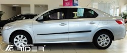 Молдинги дверей Peugeot 301 2012- Rider