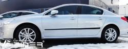 Молдинги дверей Peugeot 508 11- седан, универсал Rider