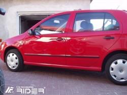 Молдинги дверей Skoda Fabia 1999-2007 Rider