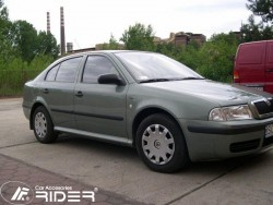 Молдинги дверей Skoda Octavia 1996-2010 Rider