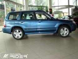 Молдинги дверей Subaru Forester 2002-2008 Rider